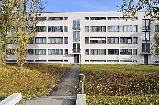 Weissenhof settlement Stuttgart Germany by Matthias Hauser