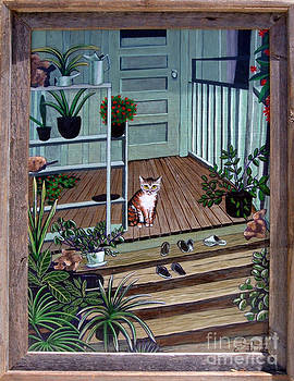 Welcome Home Kitty by Annette Jimerson