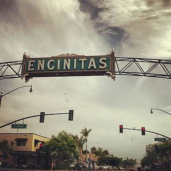 Welcome To Encinitas! #california by Veronica Rains
