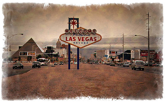 Ricky Barnard - Welcome To Las Vegas Sign 1997 - IMPRESSIONS