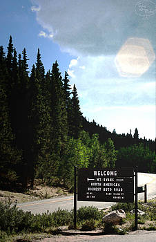 Welcome to Mount Evans by Tejas Prints