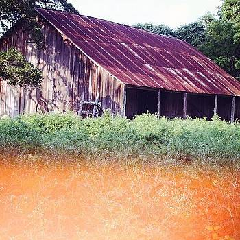 Welcome To The Ranch. #barn #flatonia by Victoria Haas