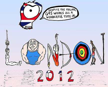Welsome to the 2012 London Olympics by Yasha Harari