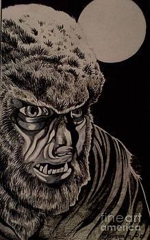 Werewolf by Kimberlee  Ketterman Edgar