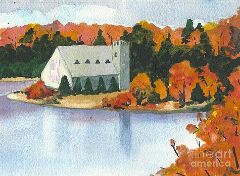 West Boylston Landmark Church by Lynn Babineau