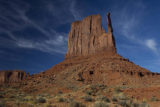 West Mitten Butte Monument Valley by Gordon Donovan