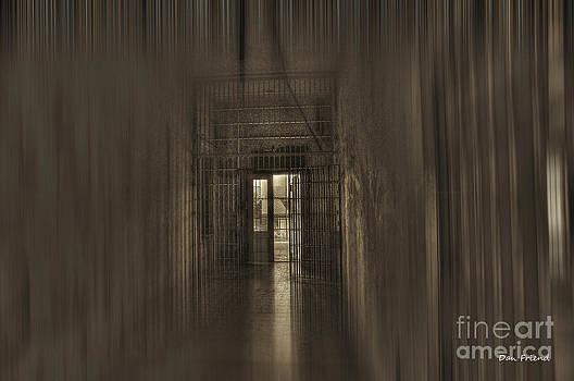 Dan Friend - West Virginia Penitentiary hallway out