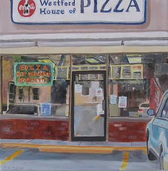 Westford House of Pizza by Laurie G Miller