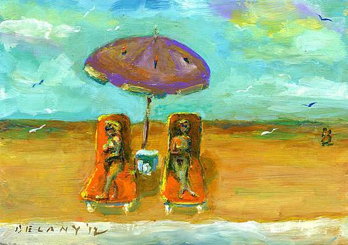 Westport Beach #4 by George Delany