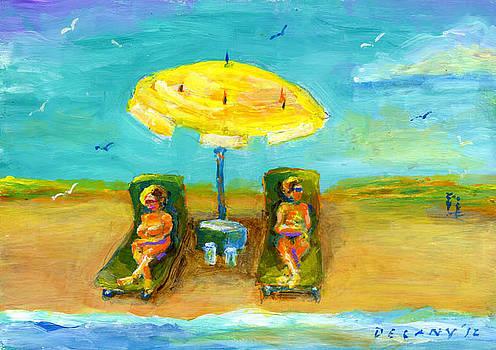 Westport Beach #5 by George Delany