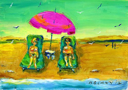 Westport Beach #6 by George Delany