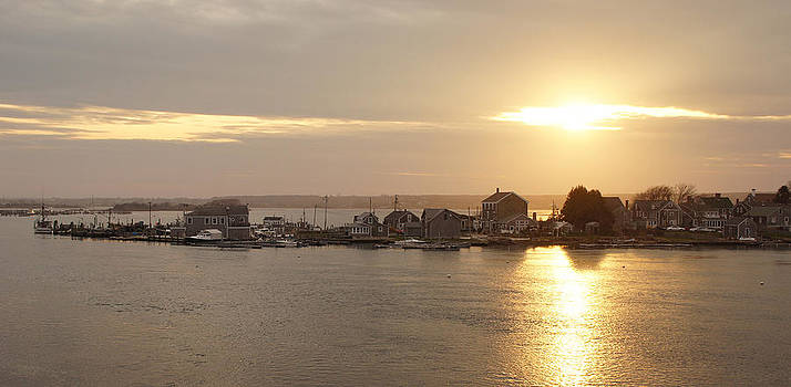 Westport Point Sunset by Corrie McDermott