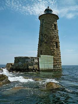 Whaleback Light by Rick Frost