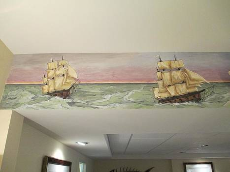 Andrew Hench - Whaling Mural 3