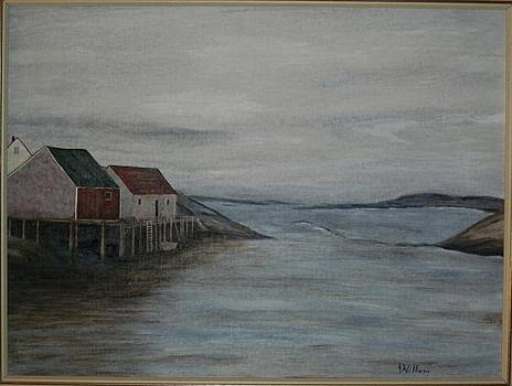 Joan Pye - Wharf at Peggy