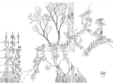 What Remains - Sketch by Robert Meszaros