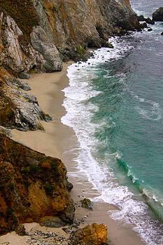 When Sea Meets Shore by Alexander Martinez