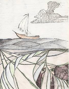 Robert Meszaros - where the deep currents run... - sketch
