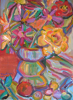 Where the Flowers Are by Marlene Robbins
