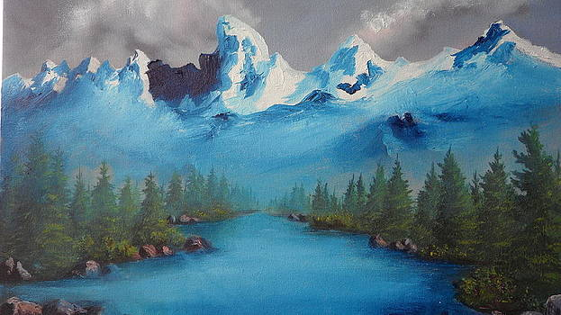 Where the Mountains Turn to Water by Lora Bradshaw