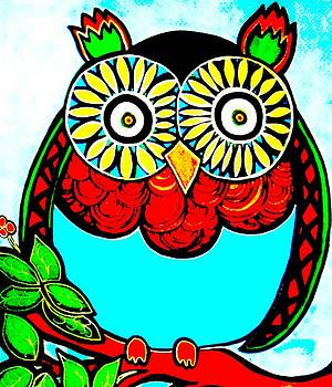 Whimsical Owl by Amy Carruth-Drum
