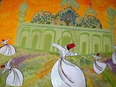 Whirling Dervish of Konya by Fatima Pardhan