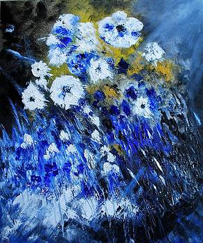 White and Blue by Larry Ney  II