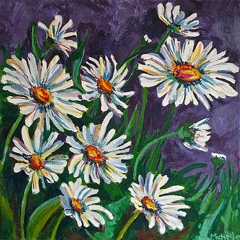 White Daisies by Michelle Grove