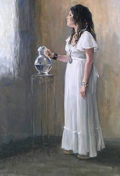 White Dress by Roger Clark