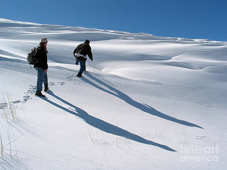 White Hiking by Issam Hajjar