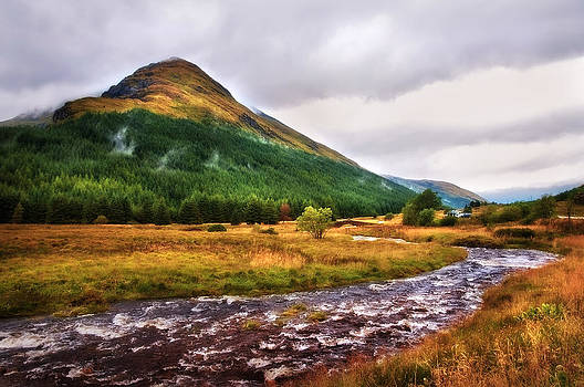 Jenny Rainbow - White Horses. Rest and Be Thankful. River Kinglas. Scotland