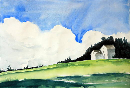 White Mountain Farmhouse by Rachel Dutton