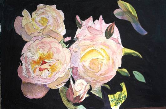 Donna Walsh - White Roses