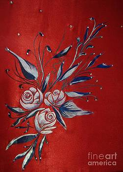 White Roses by Dye n  Design