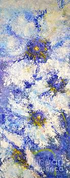 White Wild Roses by Kathleen Pio