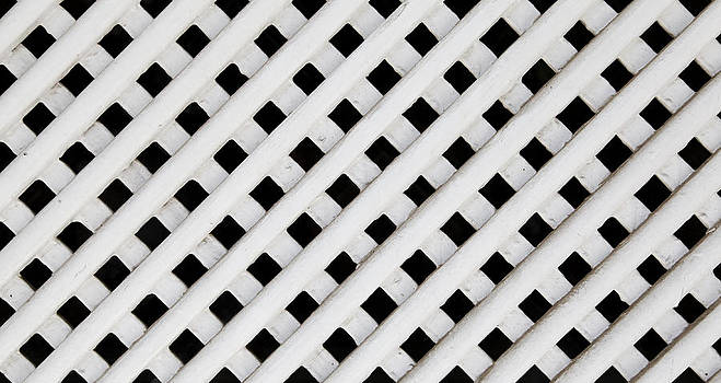 Kantilal Patel - White Wood Lattice