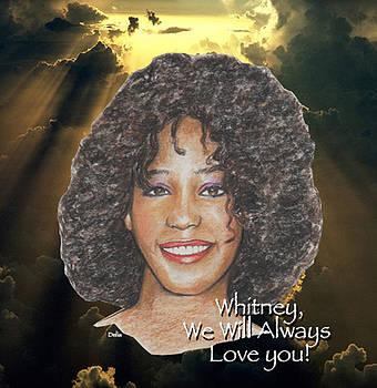 Whitney Houston by Michael Delia