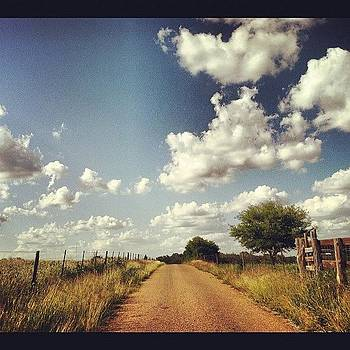 Why Don't We Take A Back Road! #texas by Victoria Haas