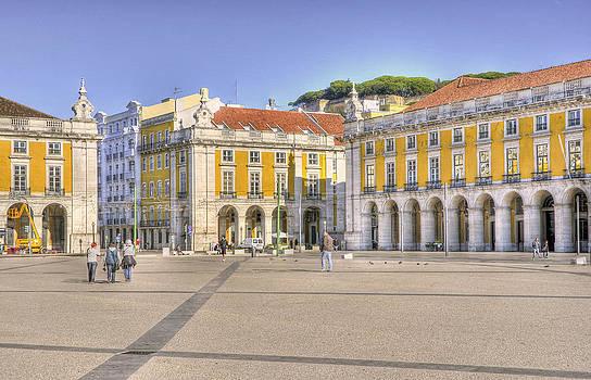 Wide Last Day In Lisbon by Miguel Garcia