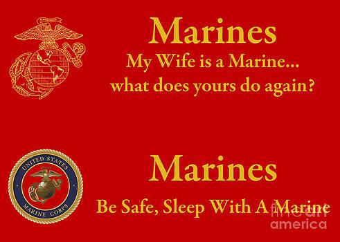 Tim Mulina - Wife is a Marine