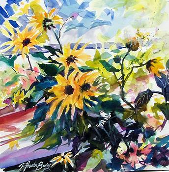 Wild Sunflower Jewels by Therese Fowler-Bailey