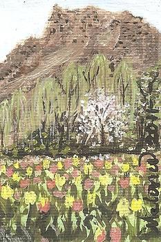 Wild Tulips by Melonie King