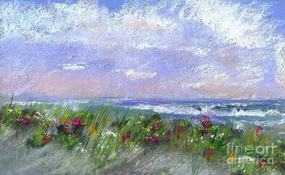 Wildflowers on the Beach by Denise Dempsey Kane