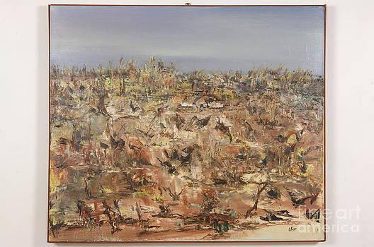 Wildlife Abstract by Jean Schueller