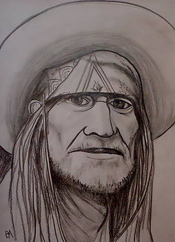 Willie Nelson by Pete Maier