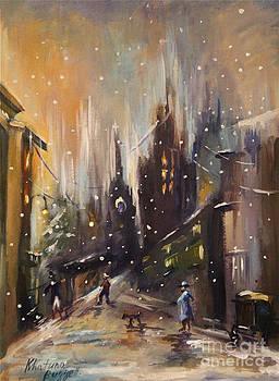 Willige In Winter  by Khatuna Buzzell