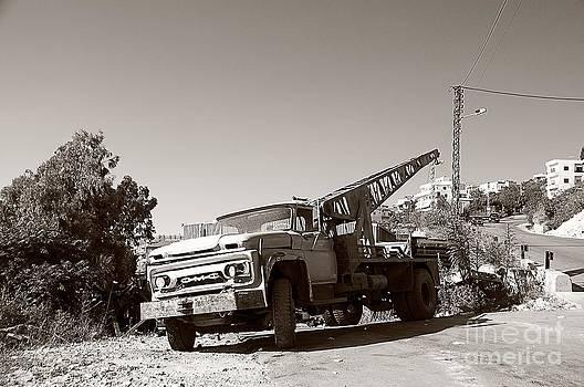 Winch Truck by Bilal Shreif