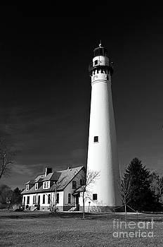 Wind Point Lighthouse by Maria Aiello