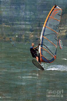 Wind Surfer by Bob Senesac