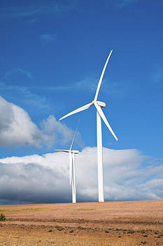 Wind Turbine by Larry Hughes